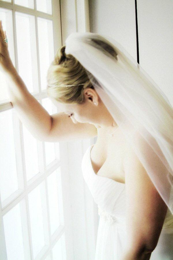 Bridal Portrait with Window Light